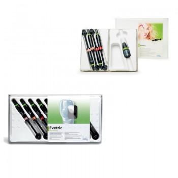 Evetric Assorment Kit 8x3.5g + Evetric System Kit 4x3.5g Ivoclar Vivadent