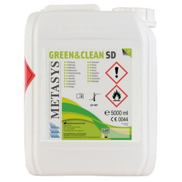 Green&Clean SD 5l dezinfectant spray cu alcool pentru suprafete Metasys