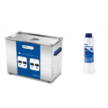 Baie ultrasunete 5L ICANCLEAN-05 + Green&Clean IDN 500ml solutie pentru dezinfectie si curatare instrumente gratuit