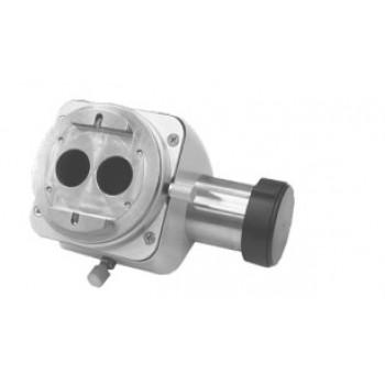 Cupla ergonomica 45° cu beam splitter si rotatie binocular