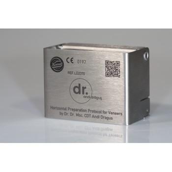 Kit Slefuire Fatete Dr Dragus  + cutie sterilizare metal