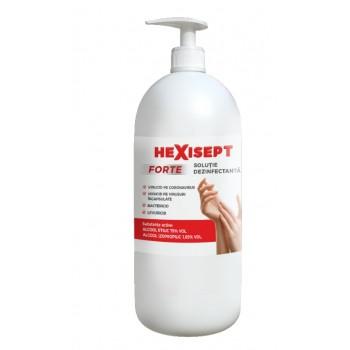 HEXISEPT FORTE 1L dezinfectant maini 80% alcool
