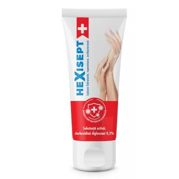 HEXISEPT+  crema de maini antibacteriana 75 ml