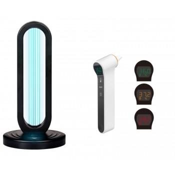Lampa UV bactericida de masa 38W + termometru digital cu infrarosu 3in1