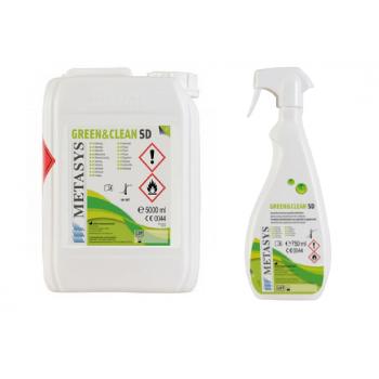 Green&Clean SD 5L + Green&Clean SD 750 ml + pulverizator gratuit