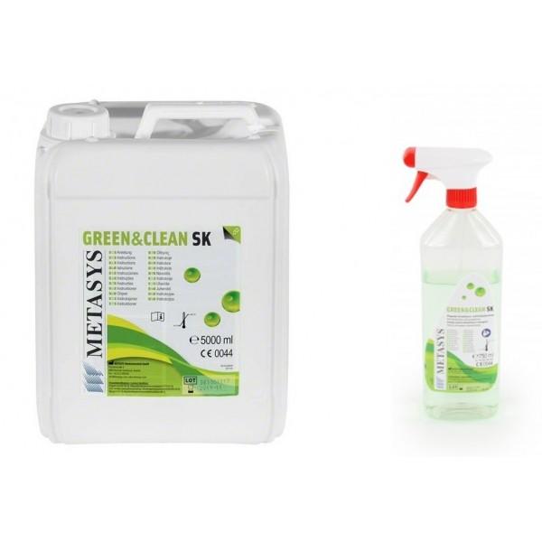 Green&Clean SK 5 L+750 ml Gratuit spuma dezinfectanta fara alcool