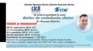 Atelier de endodontie clinica
