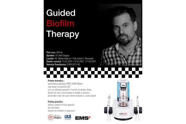 Guided Biofilm Therapy - Dr. Andi Dragus