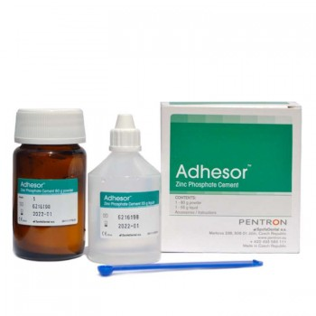 Adhesor material de cimentare cu fosfat de zinc