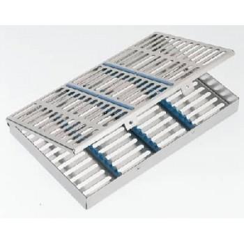 Casoletă sterilizare pentru 20 instrumente, 280x180x30