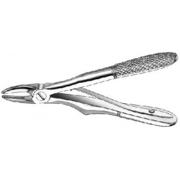 Cleşte extracţie Klein, cu arc, incisivi superiori