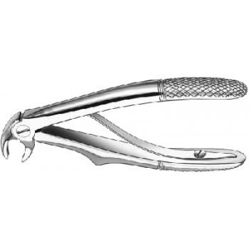Cleşte extracţie Klein, cu arc, molari inferiori