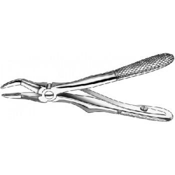 Cleşte extracţie Klein, cu arc, rădăcini superioare