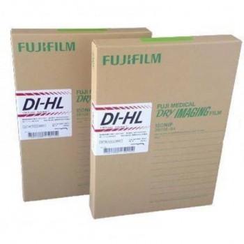 Filme Fuji DI-HL 20x25 cm Blue-base 150 buc