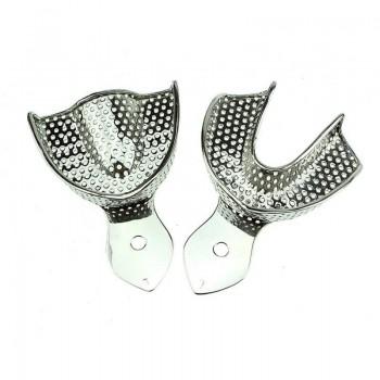Lingură amprentare perforată metalica inox RS