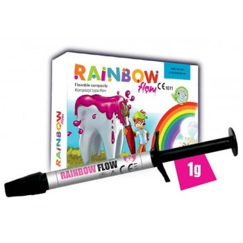 RAINBOW FLOW compozit fluid colorat 1g