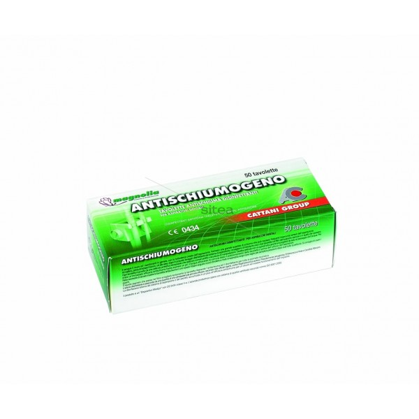 Tablete antispuma dezinfectante 50buc